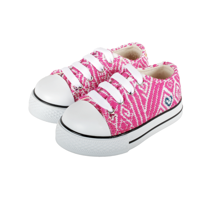 Kids Tennis Shoe- Rosa Princesa
