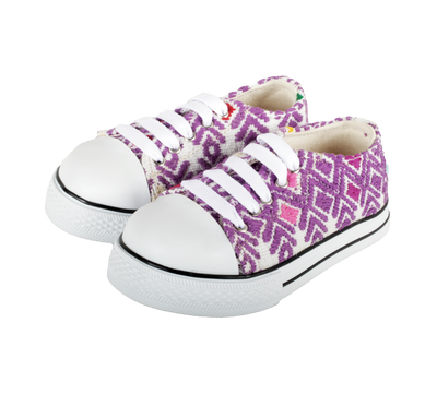 Kids Tennis Shoe- Morado Pascua
