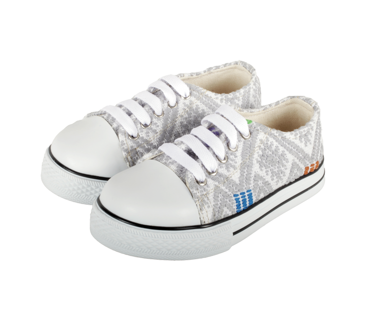 Kids Tennis Shoe- Gris