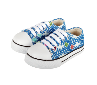 Kids Tennis Shoe- Azul Rey