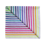 Rainbow Stripe/Lucia Beach Blanket