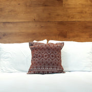 Lara Deluxe Pillow Case - Cafe