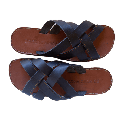 Male Crisscross Slide Sandals
