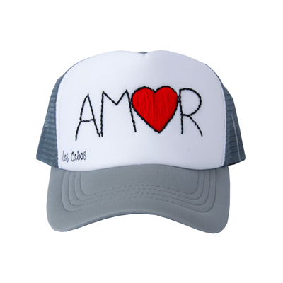 Embroidered AMOR Hat (Adult)