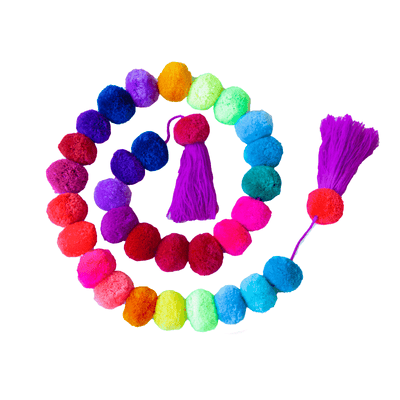 Pompon Garland Stacked