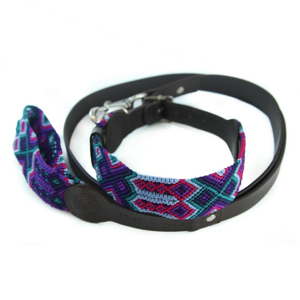 Dark Magenta Leash