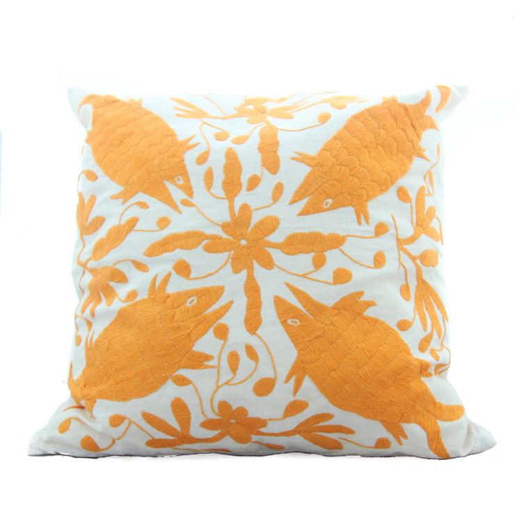 Oaxaca Pillow Case - Pumpkin