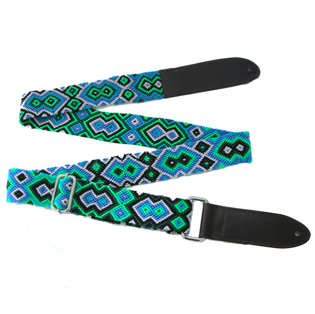 Seattle Blue Guitar Strap