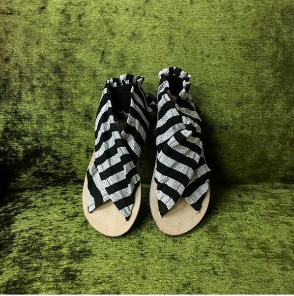 Striped Oaxaca Sandals