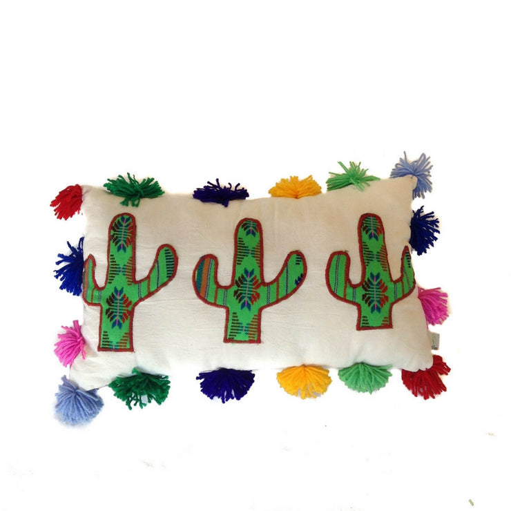 Multi Cactus Pillow
