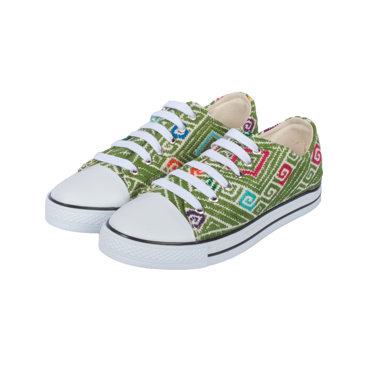 Tennis Shoe - Verde Limon