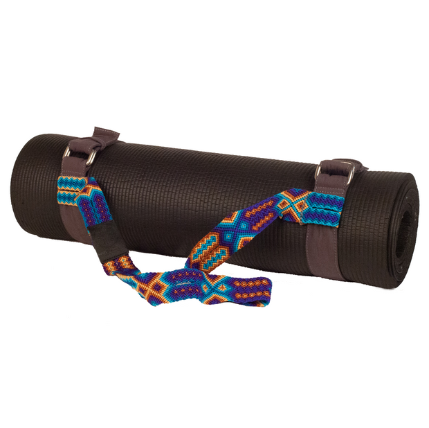 Yoga Mat Strap - Deep Blue