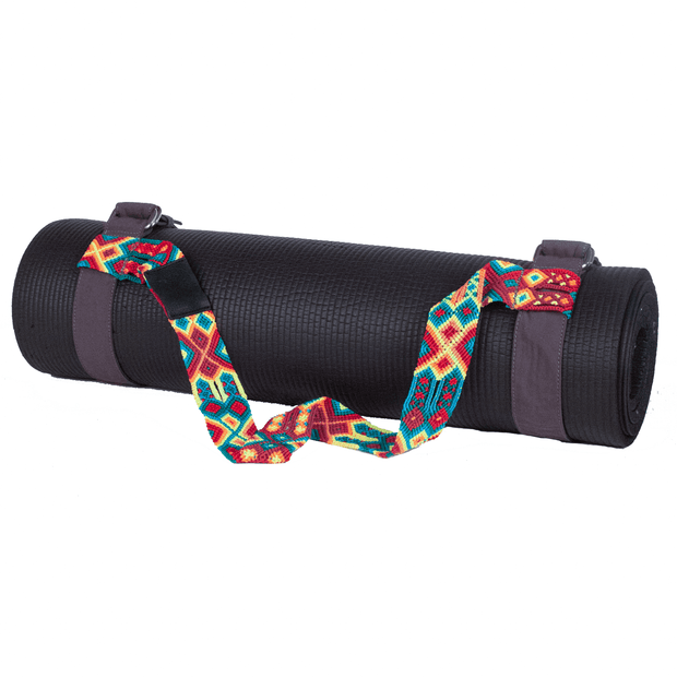Yoga Mat Strap - Sunset Red