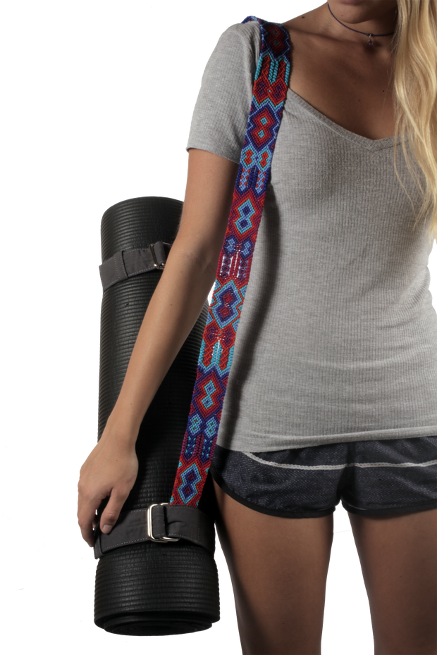 Yoga Mat Strap - Red Classic