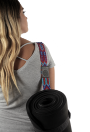 Yoga Mat Strap -Seattle Blue