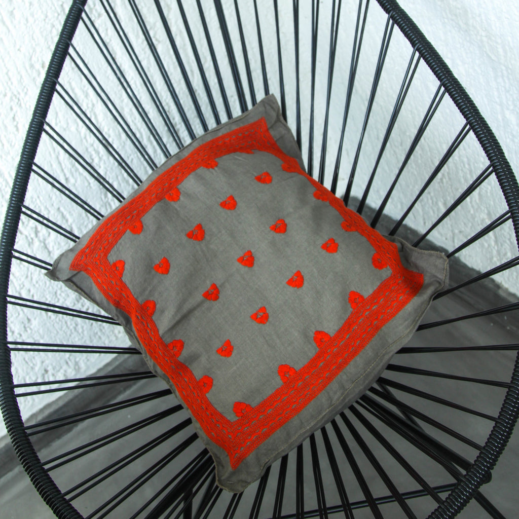 Pino Pillow Case - Orange