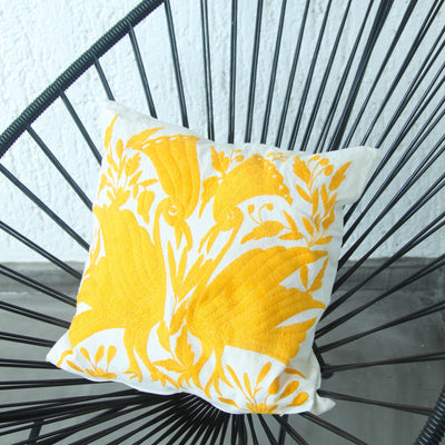 Oaxaca Pillow Case - Mandarine