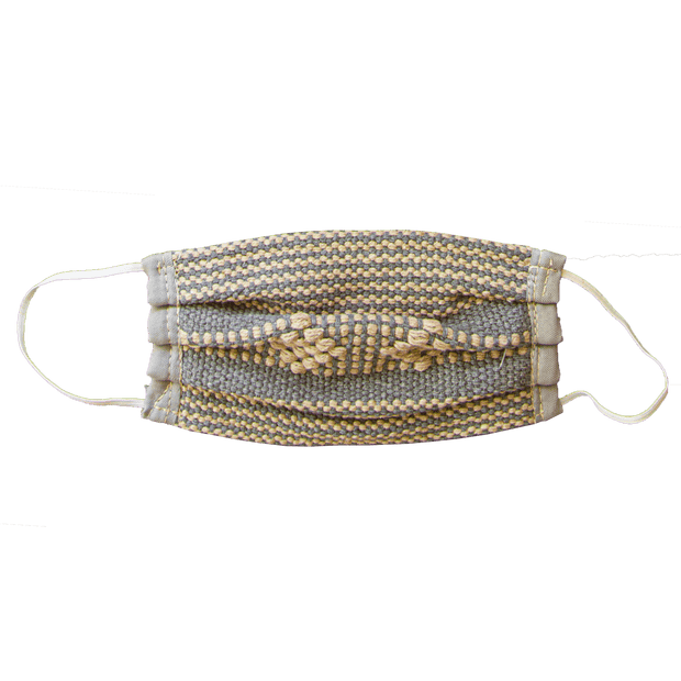 Embroidered Loom  Face Mask