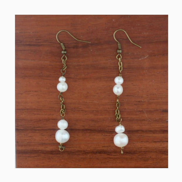 Xantus Pearl Drop Earrings