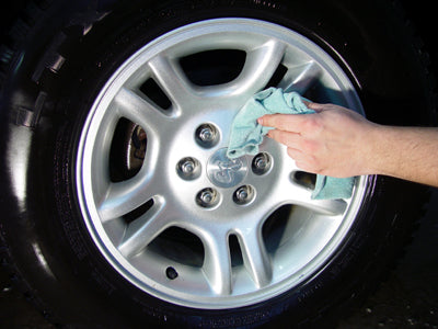 Rim cleaner, safe rim cleaner, tire shine