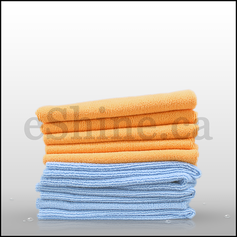 CarPro 2 Face Blue/Orange Microfiber Towel - 10pk (16x16)