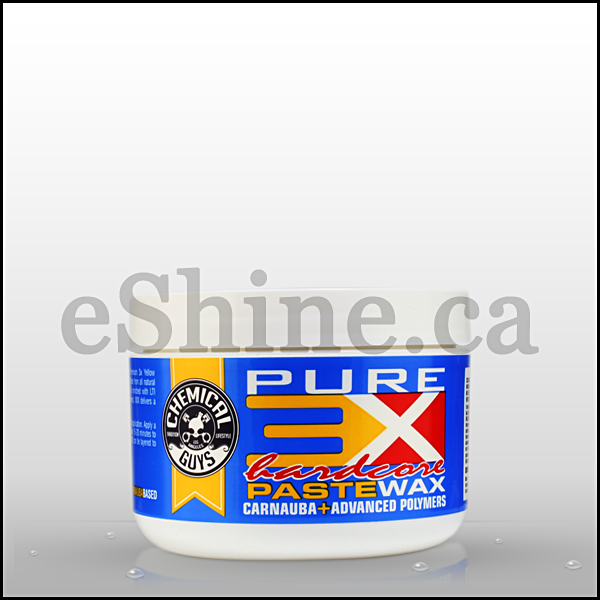Chemical Guys 3x Hardcore Carnauba Paste Wax (8oz) (WAC_301)