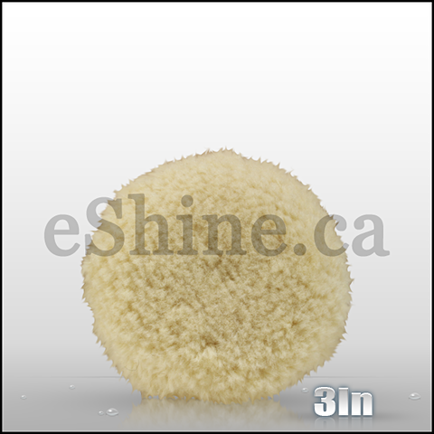 "Buff & Shine 3"" Wool Polishing Pad"
