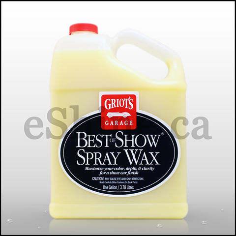 Griot's Garage Best of Show Spray Wax (128oz)