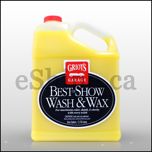 Griot's Garage Best of Show Wash & Wax (128oz)