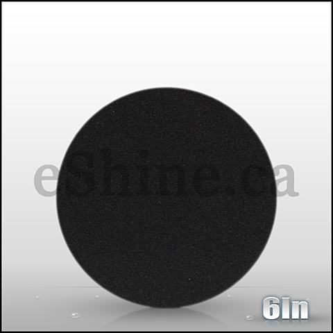 "Buff & Shine 6"" Black Foam Pad"