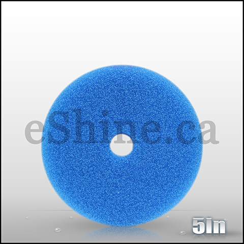 Rupes Blue Coarse Mille Foam Pad (140mm)