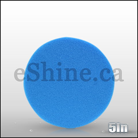 "Buff & Shine 5.5"" Blue Foam Waxing Pad"