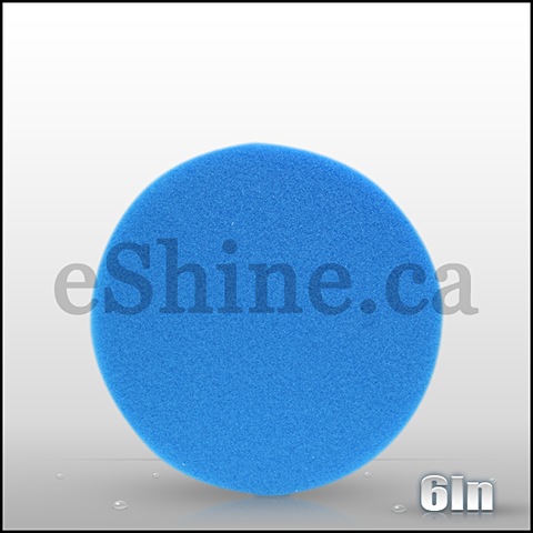 "Buff & Shine 6"" Blue Foam Pad"