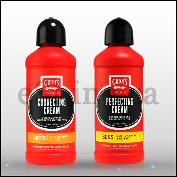 Griot's Garage Boss Correcting Twins (16oz)