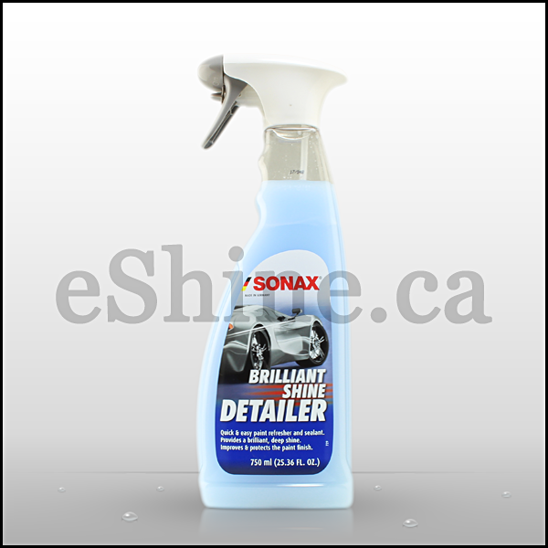 sonax brilliant shine detailer w sprayer 750ml eshine. Black Bedroom Furniture Sets. Home Design Ideas