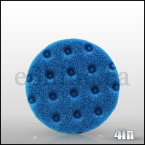 "Lake Country 4"" CCS Blue Finessing Pad"
