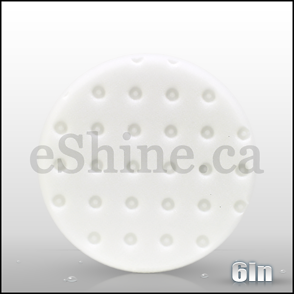 "Lake Country 6.5"" CCS White Polishing Pad (3pk)"