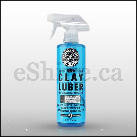 Chemical Guys Clay Luber Lubricant W/Sprayer (16oz) (WAC_CLY_100_16)