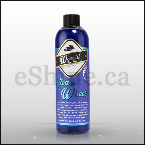 Wowo's Clean Wheels W/Sprayer (500ml)