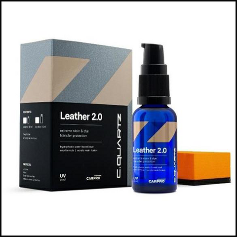 Carpro Cquartz Leather 2.0 Protectant Kit (30ml)