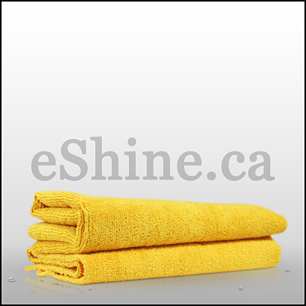 The Rag Company Edgeless All Purpose Terry Detailing Towel - Gold (16x16) 51616-E365-GOLD