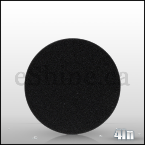 "Lake Country 4"" FLAT Black Finishing Pad"