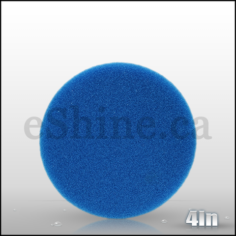 "Lake Country 4"" FLAT Blue Finessing Pad"