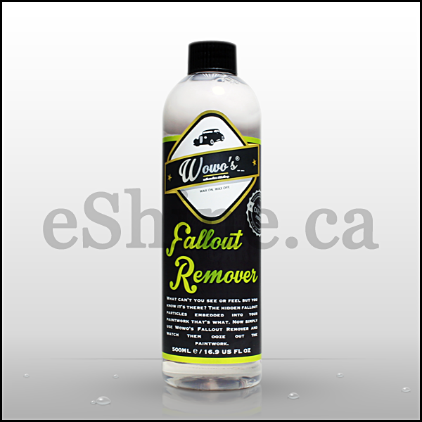 Wowo's Fallout Remover W/Sprayer (500ml)