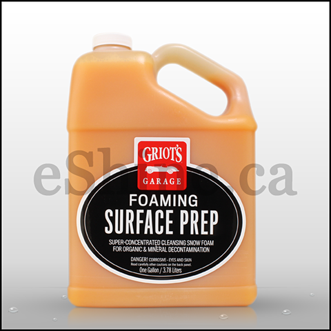 Griots Garage Foaming Surface Prep (128oz) (B3101)