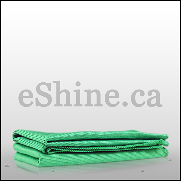 The Rag Company Glass & Window Towel - Green (16x16)