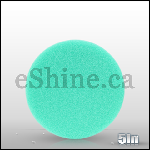 "Buff & Shine 5.5"" Green Foam Buffing Pad"