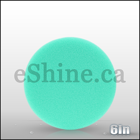 "Buff & Shine 6"" Green Foam Pad"