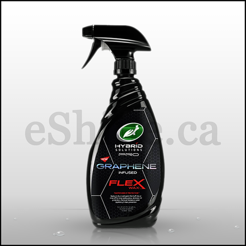 Turtle Wax HS Pro Graphene Flex Wax W/Sprayer (23oz)