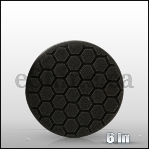 "Chemical Guys 6.5"" Hex Logic Black Finishing Pad (BUFX_106HEX6)"